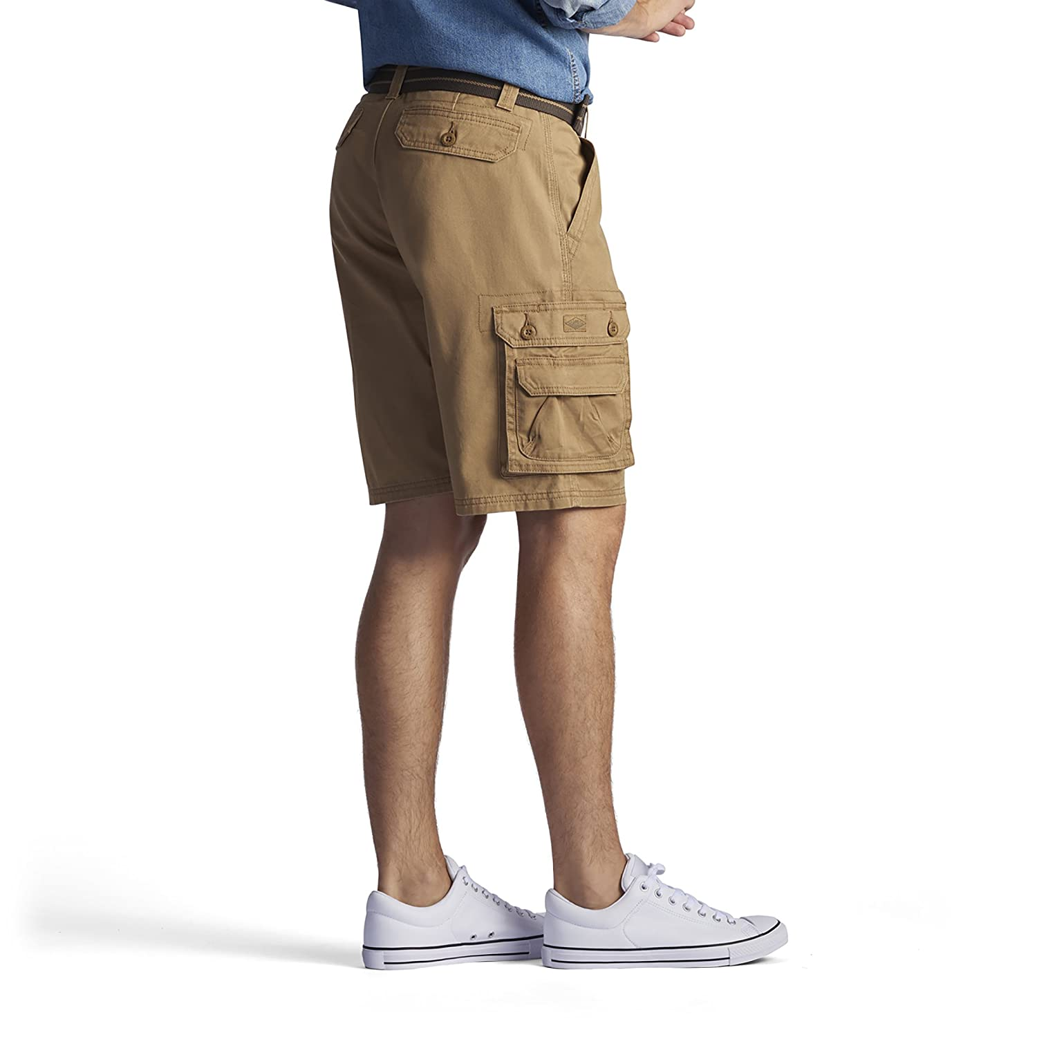 LEE Mens Dungarees New Belted Wyoming Cargo Short