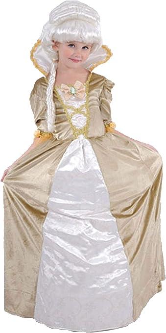 EL CARNAVAL Disfraz Marquesa época niña Talla de 8 a 10 años ...