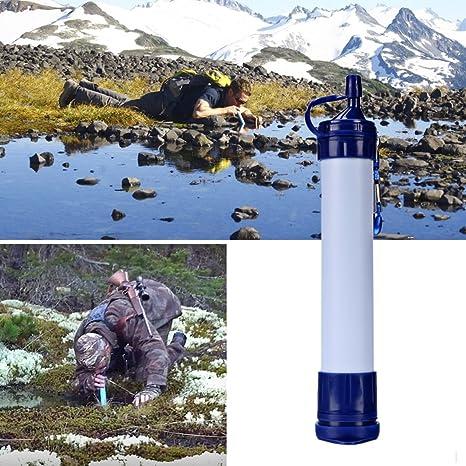 VeeCool exterior paja de purificadores de agua Personal filtro de ...