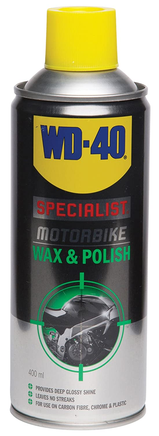 WD-40 400ml Specialist Motorbike Wax and Polish WD-40 Company 44133