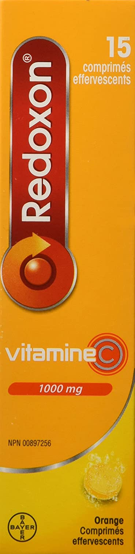 Amazon.com: Redoxon Orange Vitamin C Effervescent Tablets 15 Orange Effervescent Tablets: Health & Personal Care
