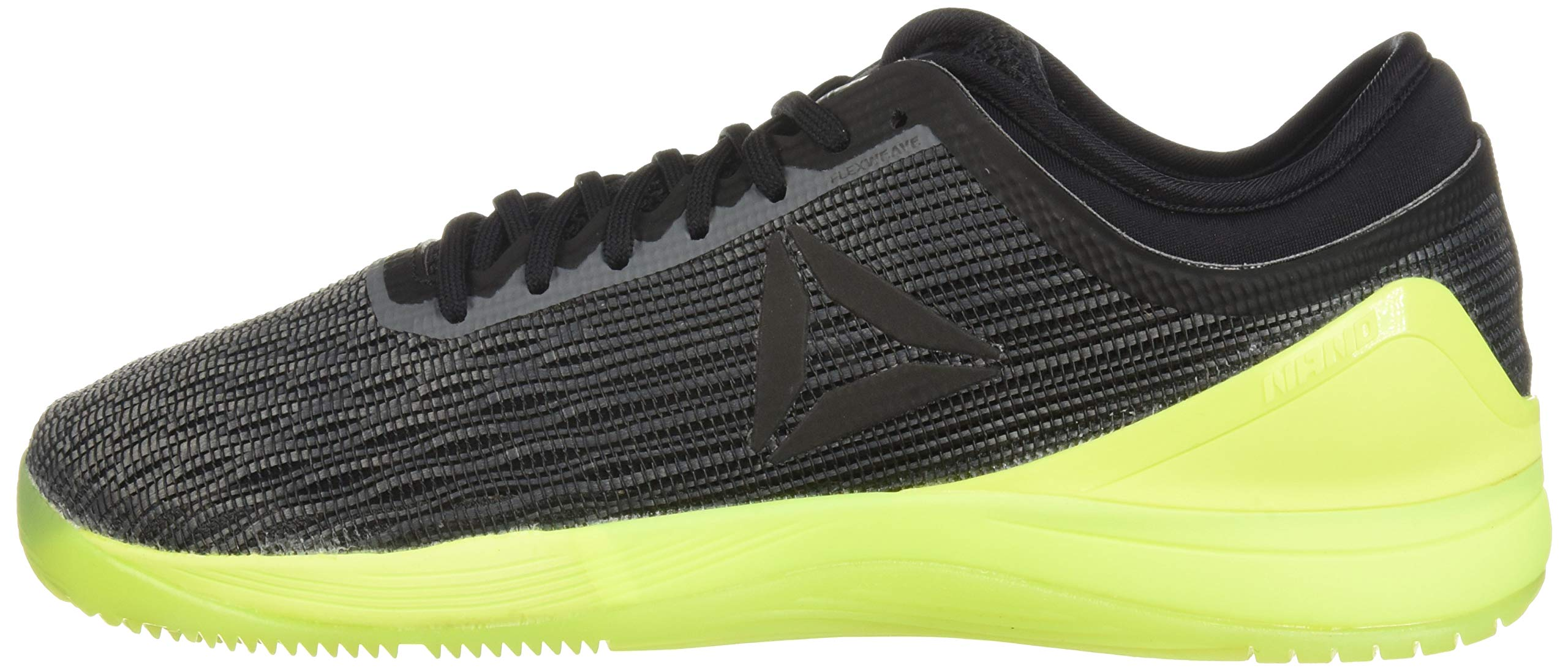 Reebok Men's CROSSFIT Nano 8.0 Sneaker, Alloy/Black/Solar Yellow, 6.5 M US by Reebok (Image #5)