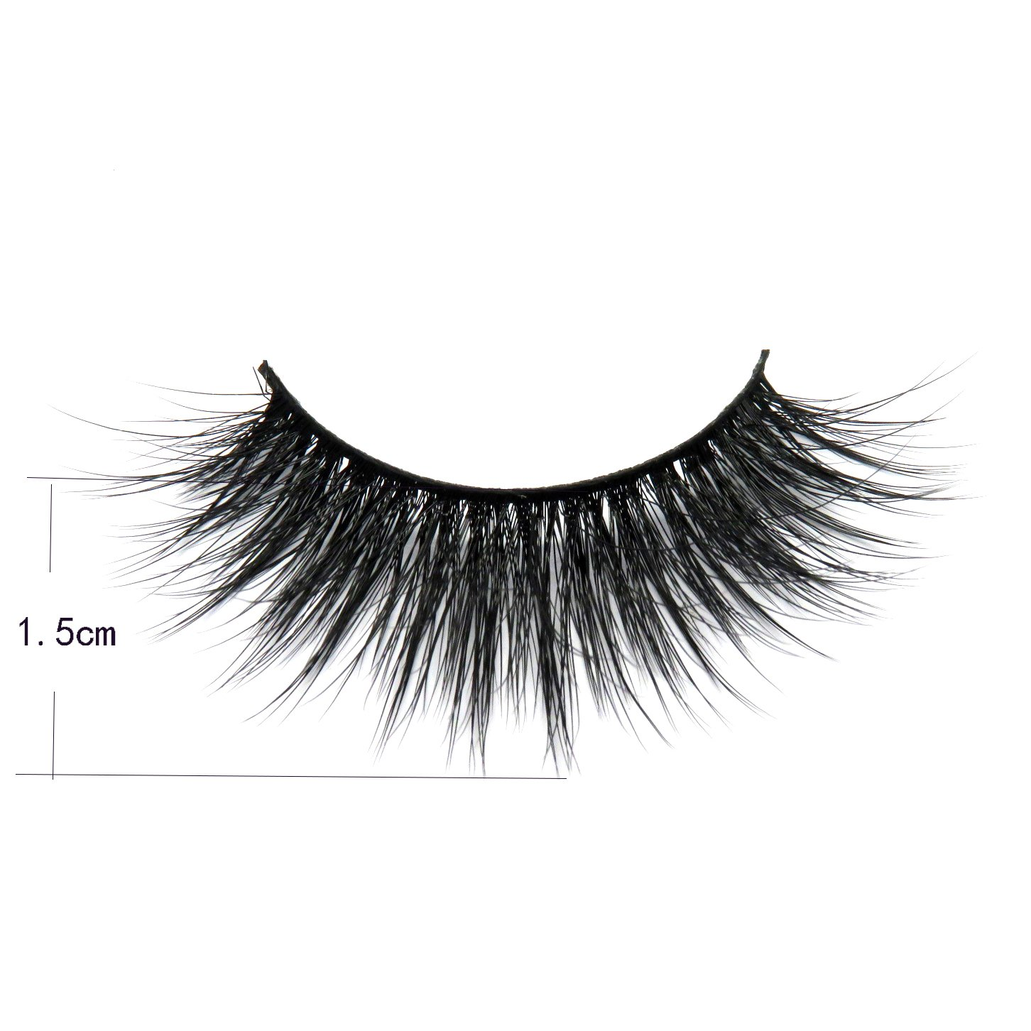 8fb6fde0c22 Amazon.com : Luxury 3D Synthetic Faux Mink Lashes Volume Silk Angel Wing  Natural Long Thick False Eyelashes for Makeup Softer than Real Mink fur  Lashes : ...
