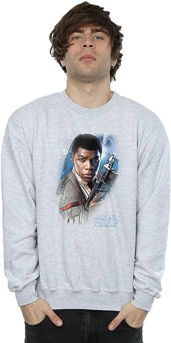 Star Wars Hombre The Last Jedi Finn Brushed Camisa De Entrenamiento: Amazon.es: Ropa y accesorios