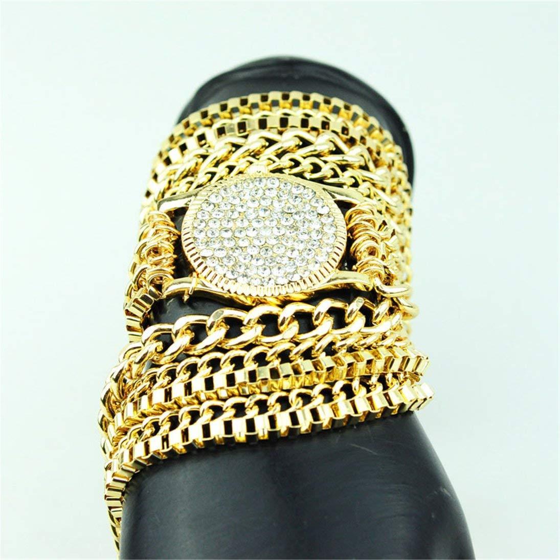 Baynne N0027Exquisite Decor Pattern Stylish Necklace Elegant Shiny Necklace