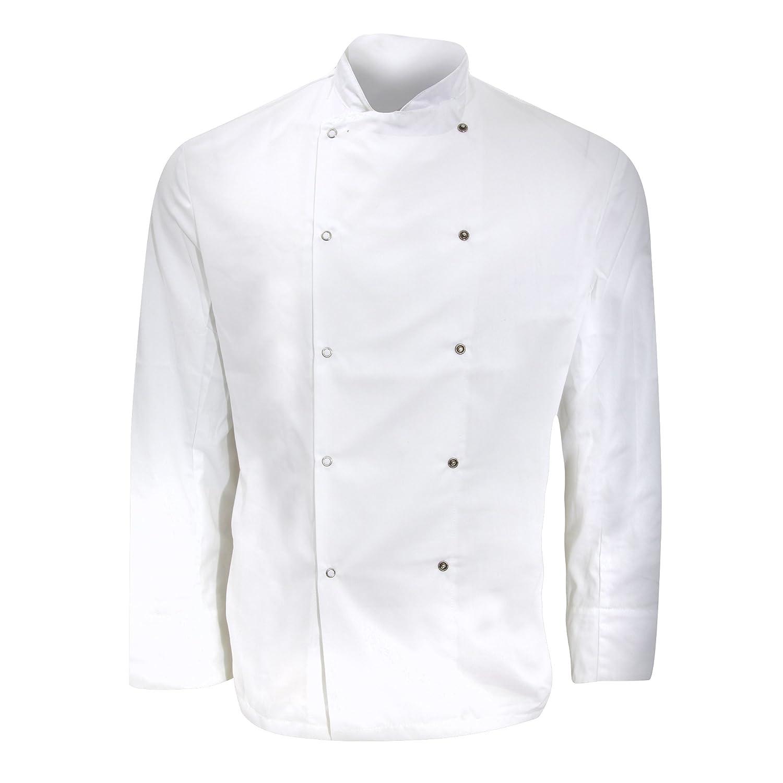 Dennys Mens Long Sleeve Chefs Jacket//Chefswear