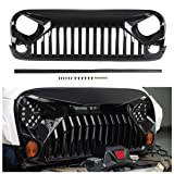 Topfire Upgraded Front Grill with Strip, Clips
