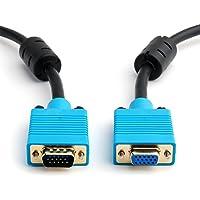 VGA/SVGA HD15Monitor Cable de extensión, Premium Calidad, todos