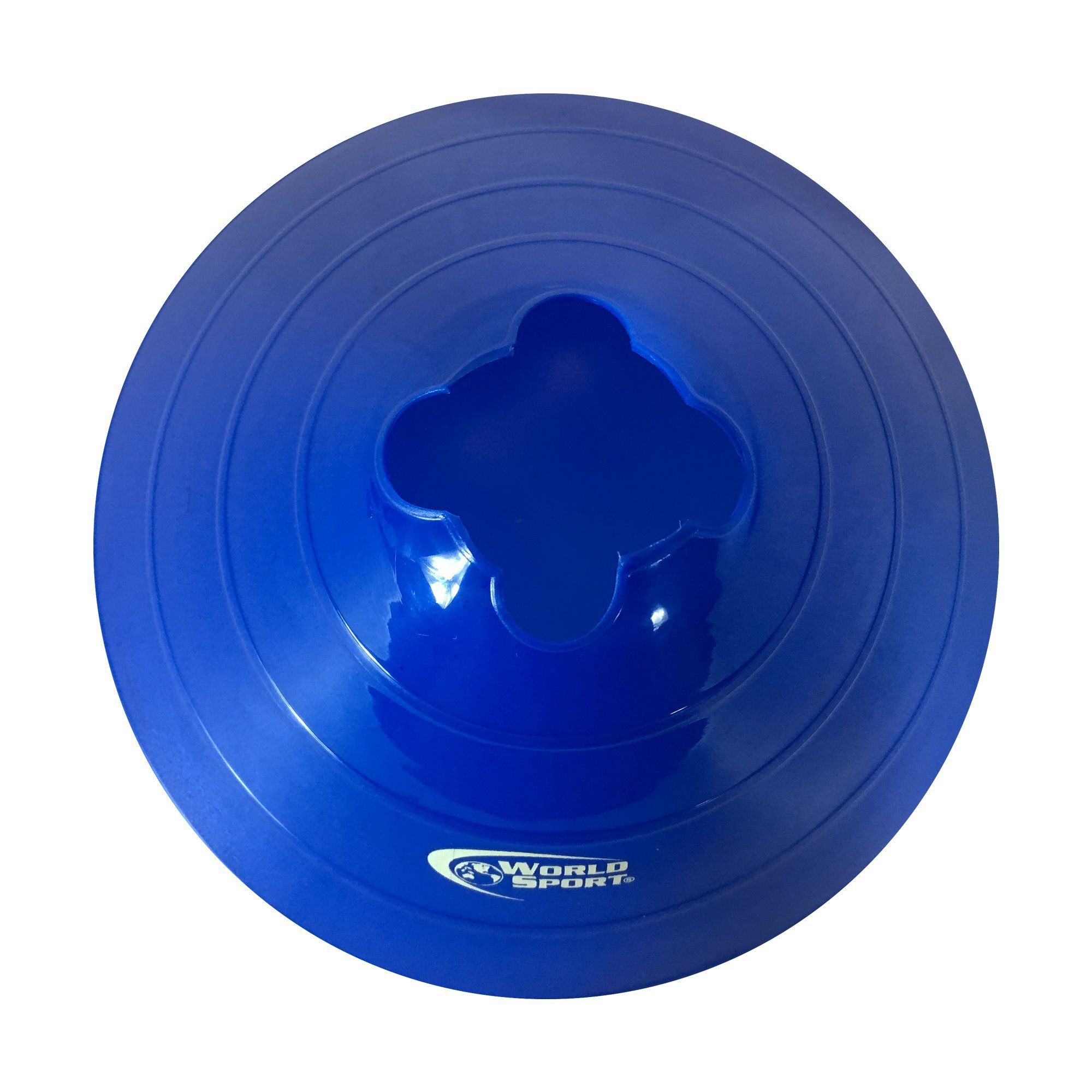 World Sport Large Multi Color (Red White Blue) Disc Cones by World Sport (Image #5)