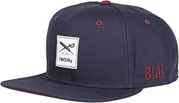 b3b4c9c54ee866 Iriedaily Irie Daily Daily Flag Snapback Cap navy red mens one Size NEW