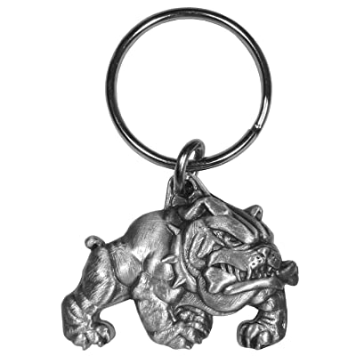 Siskiyou KR155 Bulldog Key Chain, Grey: Automotive