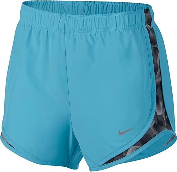 f6e63e5ac325 Image Unavailable. Image not available for. Color: Nike Women's 3'' Dry  Tempo Running Shorts(Polarized Blue/Stealth/Wg
