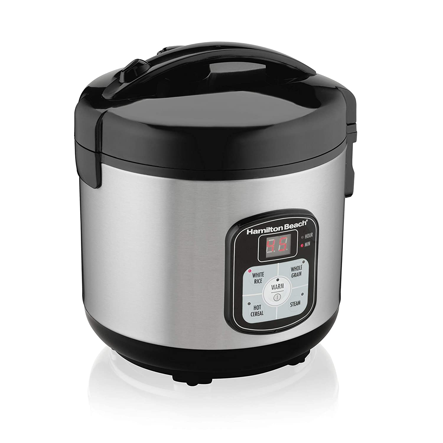 Hamilton Beach 8-Cup Rice Cooker and Steamer | Model# 37519
