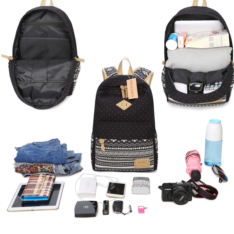 e9f4fae6888a6 Mäppchen Schultaschen 3 Set aus Canvas für Jungen Mädchen Schule Freizeit  Neuleben Schulrucksack Blau Kühltasche