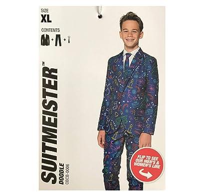 728d27a83 Amazon.com  Suitmeister Boys  Ugly Holiday Snowman Suit - Blue (Size ...