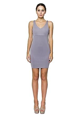 Amazon.com  VIRGIN ONLY Women s Open Back Bodycon Dress  Clothing 9416403aa