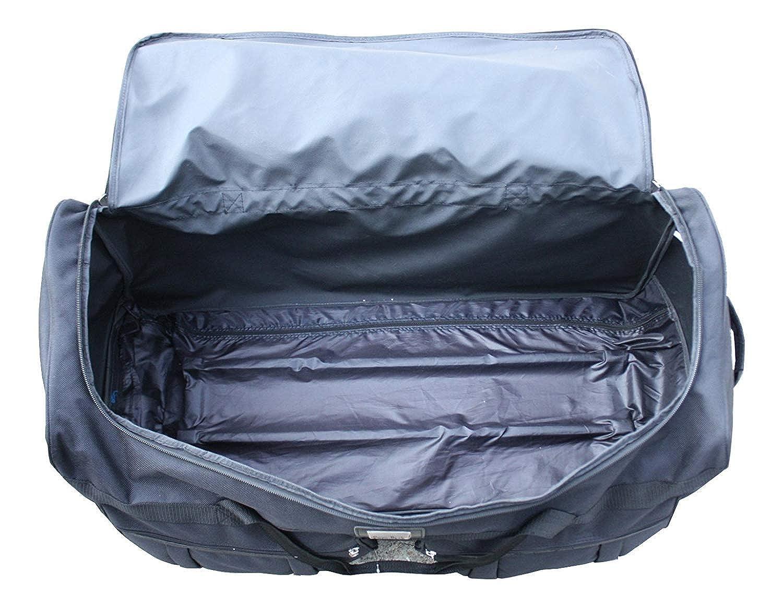 Gothamite 42-inch Rolling Duffle Bag with Wheels Luggage Bag XL Duffle Bag With Rollers Hockey Bag Heavy Duty Oversized Storage Bag