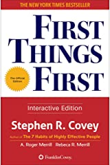 First Things First Kindle Edition