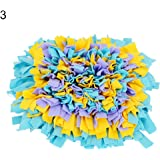 Sanwooden Funny Dog Snuffle Mat Dog Puppy Snuffle Mat Play Yummy Pad Funny Toy Pet Nose Training Feeding Pet Supplies