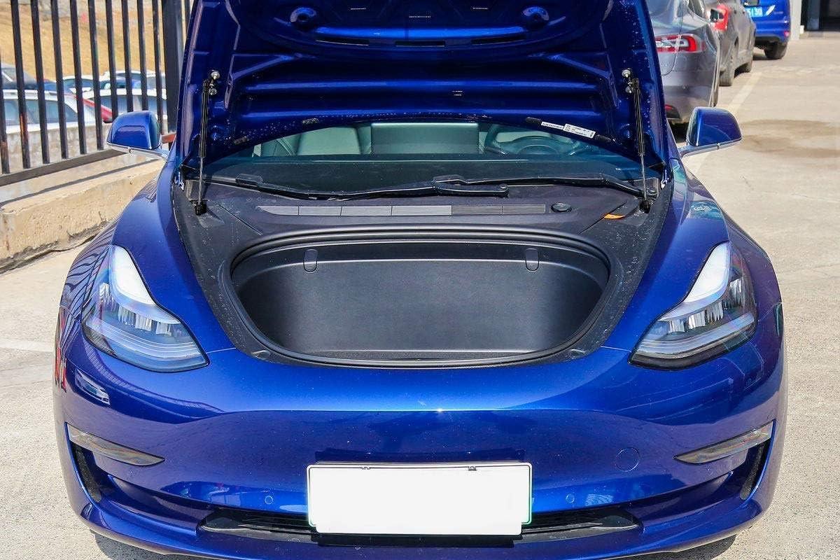 Kit de puntales de elevaci/ón del cap/ó del maletero delantero y trasero Compatible con Tesla Model 3,Front