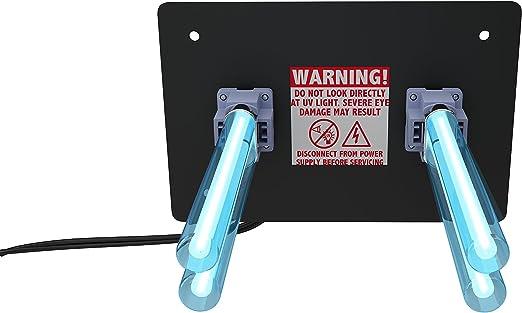 REKO Lighting R2000 Purificador de Aire para Toda la casa, luz UV Uvc en conducto para HVAC AC (Aire Acondicionado) Filtro germicida de conducto: Amazon.es: Hogar