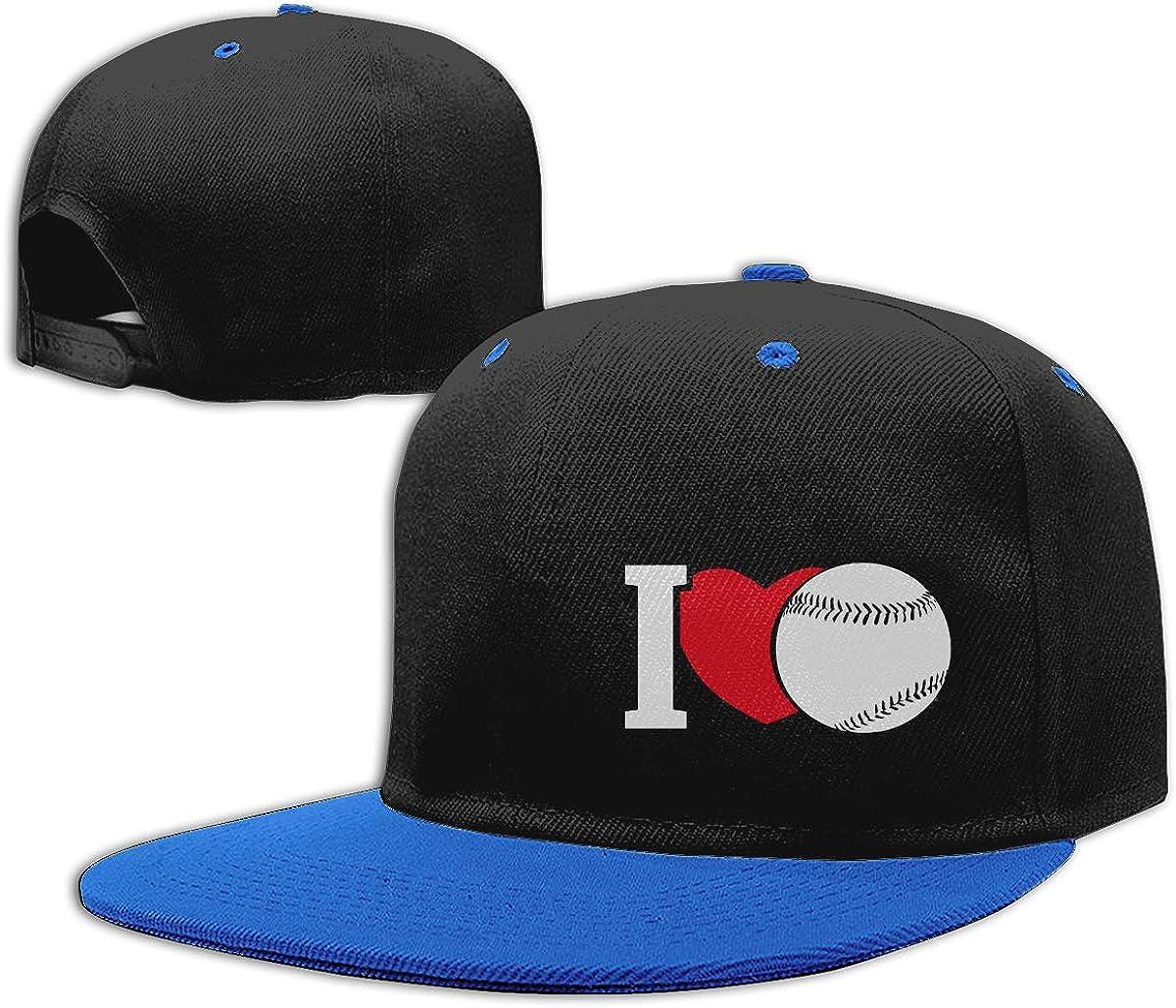 Baseball Clipart Baseball Heart Fashion Flat Bill Baseball Caps NMG-01 Men and Women Snapback Cap