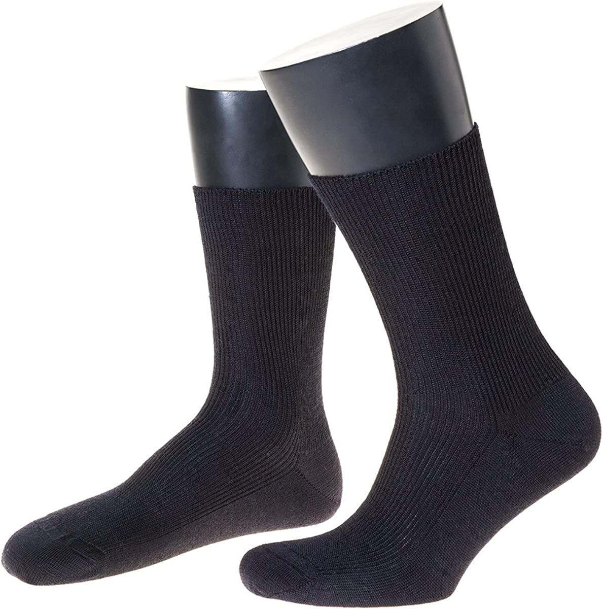 Made in Germany 3 Paar Schurwoll-Socken 100/% Schurwolle Business