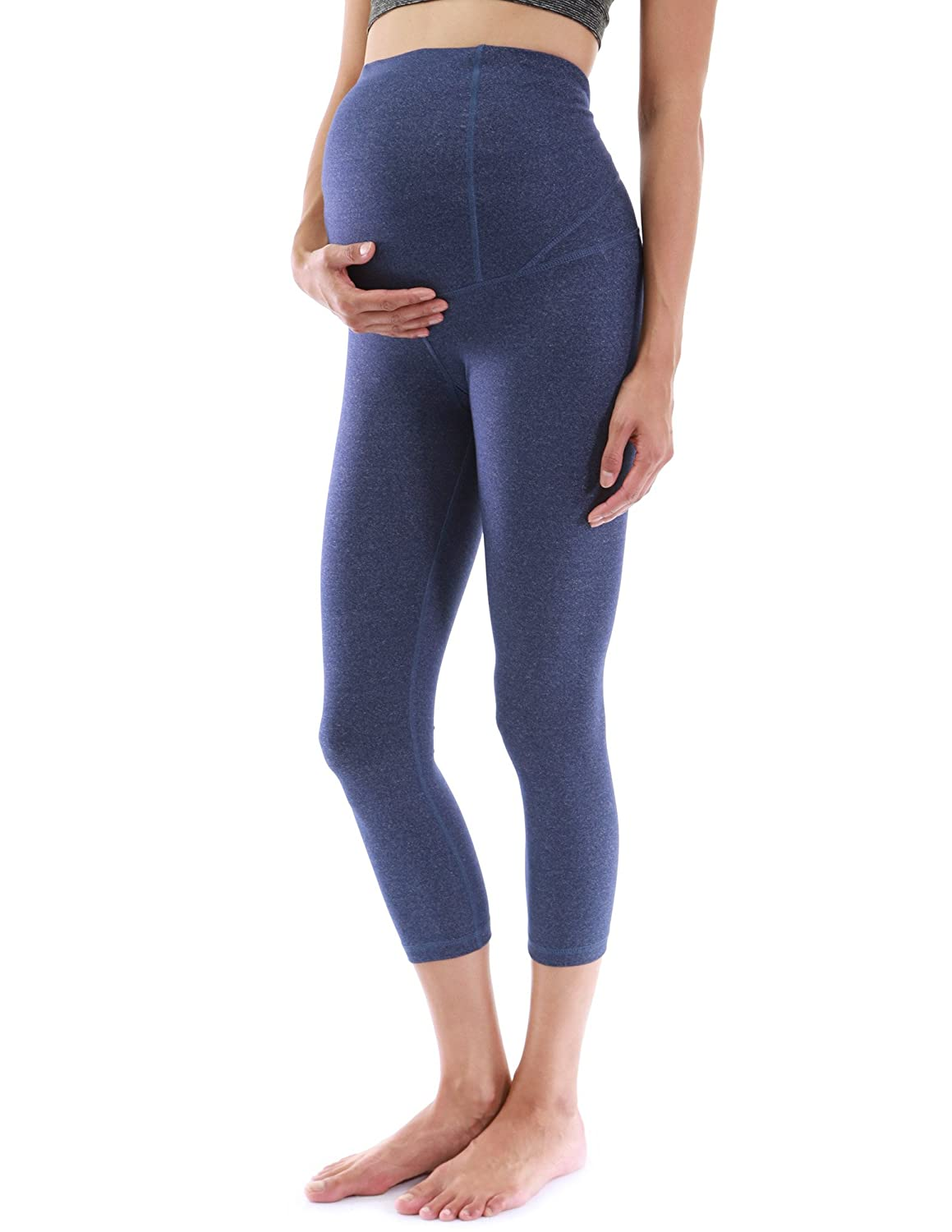 PattyBoutik Mama Shaping Series Maternity Crop Legging Yoga Pants