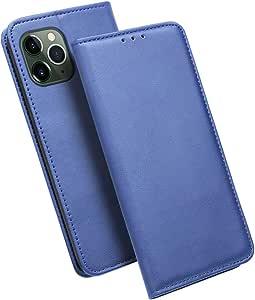 iHOY Funda iPhone 11 Pro MAX,Carcasa PU Ultra Delgada con