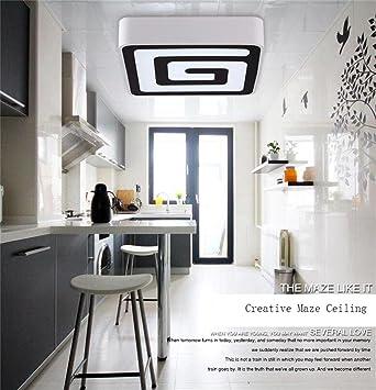 Umgebungs-Deckenleuchte, LED-Deckenleuchte Wohnzimmer leuchtet ...