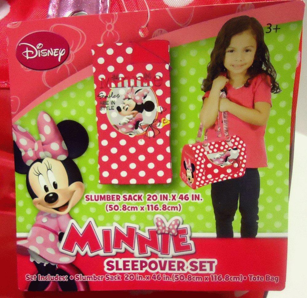 Disney Minnie Mouse Sleeping Bag 3-Piece Toddler Slumber Sack