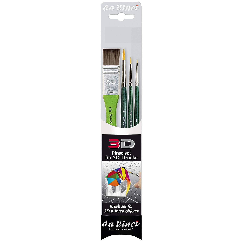 Da Vinci - Juego de pinceles para pintar (impresión 3D ...