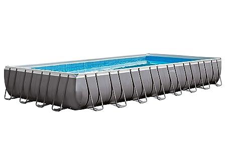 Piscina Intex Ultra Frame 9,75 m x 4,88 m x 1,32 m con depuradora de arena: Amazon.es: Juguetes y juegos