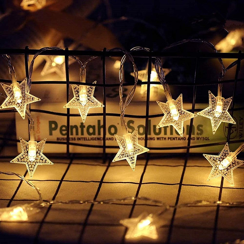 40x LED Light Lamp Fairy String Christmas Decoration Gift Garland New Year Panda