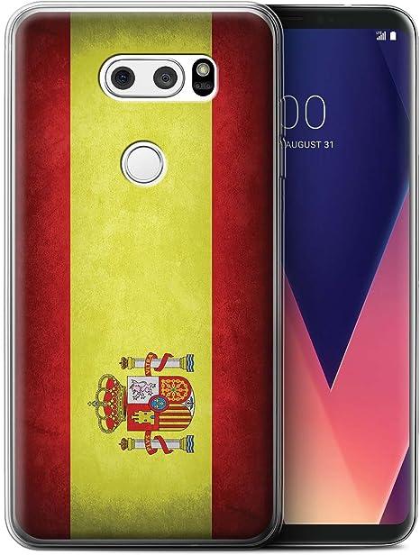 Stuff4 Var para bandera España LG V30/V30+: Amazon.es: Informática