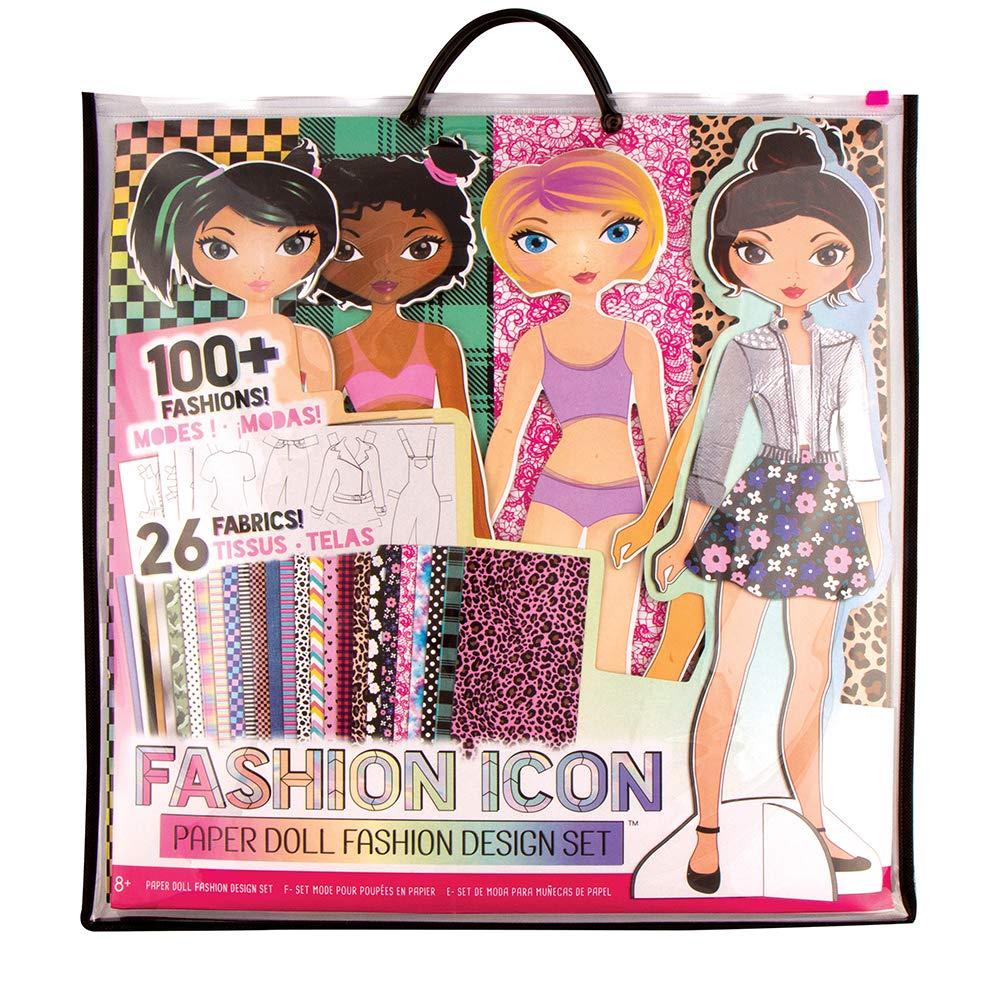 Fashion ICON Paper Doll Fashion Design Kit by Fashion Angels