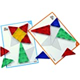 FLYING START Magna Tiles Brainy Kids Puzzle Kit Learning and Educational Toys for Preschoolers. for use only with Flying Start Magna Tiles.