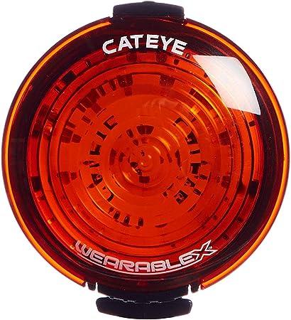 CATEYE Rear Bike Light Wearable X Rear Rechargeable Red NEW FREE UK PP
