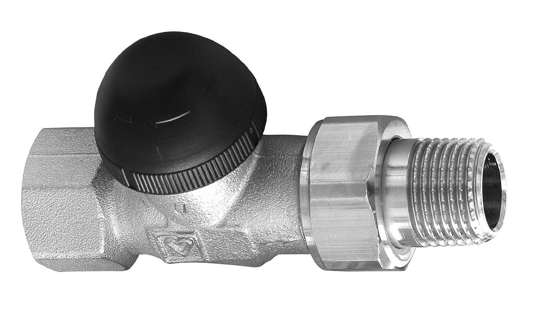 Sanitop-Wingenroth 27077 9 Herz Thermostatventil-Unterteil Achsenventil Heizk/örper rechts