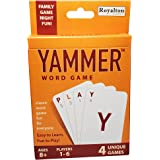 Yammer Classic Word Card Game, Fun for Kids, Adults and Family Game Night, 1-6 Players, Ages 8-Adult N6101