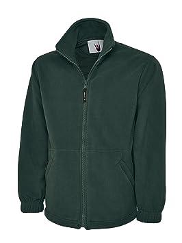 - Bottle Green UC604 Small 300 GSM Classic Full Zip Micro Fleece Jacket