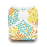 Thirsties Duo Wrap Cloth Diaper Cover, Hook and Loop Closure, Fallen Leaves Size Two (18-40 lbs)
