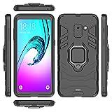 Fetrim Galaxy A8 2018 Case, TPU Plastic Dual