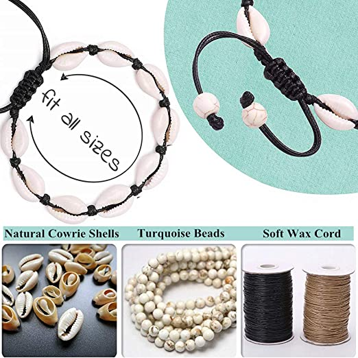 Adjustable Bracelet Sea Conchita! Cowrie Shell Bracelets