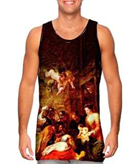 Yizzam Gustave Dore Mens Tank Top 2522 The Divine Come.-Tshirt