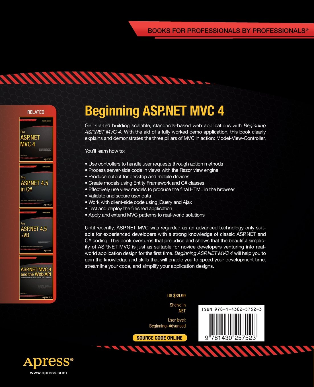 BEGINNING ASP NET MVC 4 DOWNLOAD