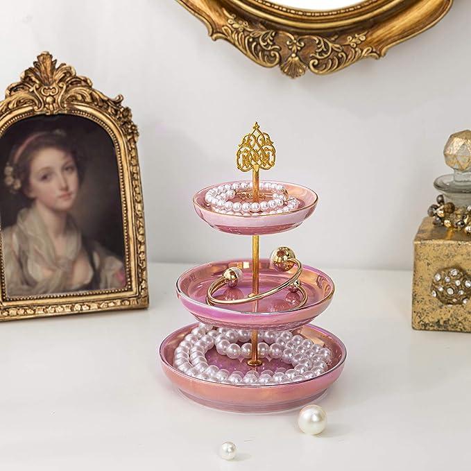 100/% Genuine Onyx Ring Holder Cone and Jewelry Dish set