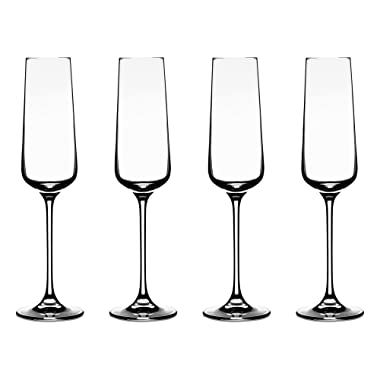 Cuisinart CGE-01-S4CF Elite Vivere Collection Champagne Flute, Set of 4