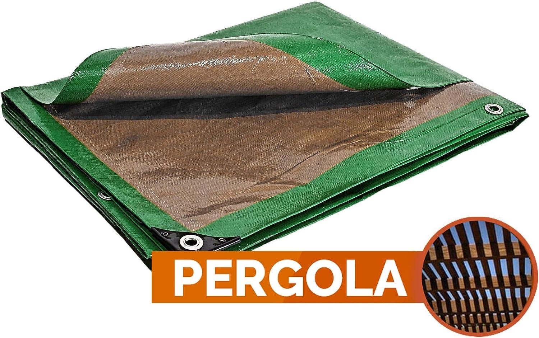 Toldo Pergola 250 g/m² – 6 x 10 m – lienzo Pergola – lienzo para carpa – bache Exterieur – bache terraza: Amazon.es: Bricolaje y herramientas