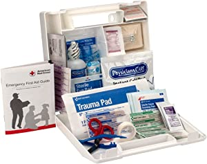 First Aid Only 223-U 25 Person Bulk First Aid Kit, 106-Piece Kit, White